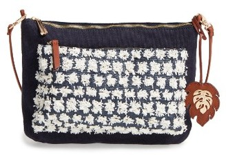Tommy Bahama Koki Beach Crossbody Bag - Blue $88 thestylecure.com