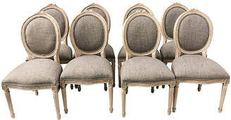 One Kings Lane Vintage French Style Dining Chairs,Set of 8 - Von Meyer Ltd.