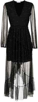 Nk asymmetrical tulle dress