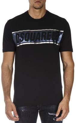 DSQUARED2 Dsq2 Black Cotton T-shirt