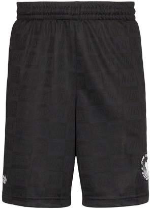 adidas X NTS Radio logo-jacquard shorts