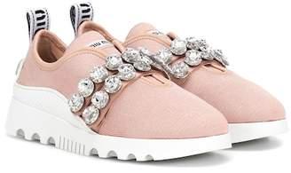 Miu Miu Embellished sneakers