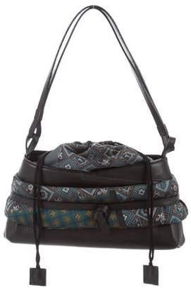 Kenzo Printed Leather Shoulder Bag