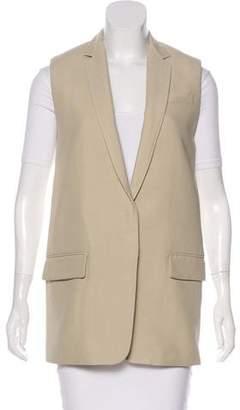 Rag & Bone Notch-Lapel Textured Vest