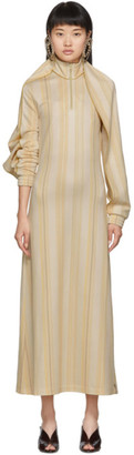 Y/Project Yellow Long Wing Dress