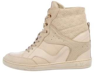 Louis Vuitton Cliff Wedge Sneakers