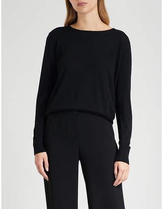 Claudie Pierlot Fine-knit wool jumper