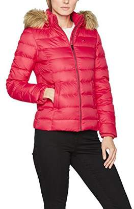 Tommy Jeans Women's Basic Down Jacket,10 (Manufacturer Size: )