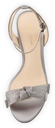 Pelle Moda Alexia Jeweled-Strap Satin Sandals