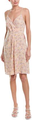 BCBGeneration Floral Wrap Dress