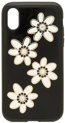 Swarovski Opal Daisy iPhone 6/7/ Plus Case in Black Sonix 0loYz1o