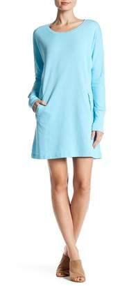 Allen Allen Sweatshirt Dress $98 thestylecure.com