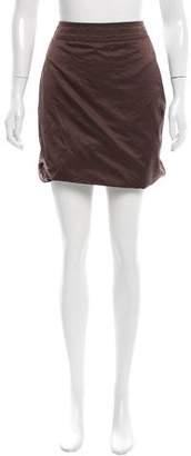 Bottega Veneta Bubble Hem Mini Skirt