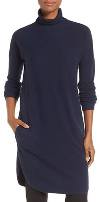 Women's Nordstrom Collection Funnel Neck Cashmere Tunic $299 thestylecure.com