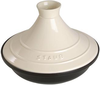 Staub Cast Iron & Ceramic Tajine - Cream