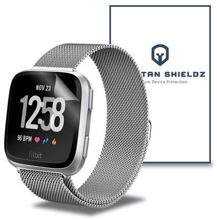 6X - Spartan Shield Premium HD Screen Protector For FitBit Versa - 6X