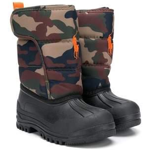 Ralph Lauren (ラルフ ローレン) - Ralph Lauren Kids camouflage padded shaft boots