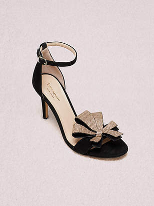 Kate Spade Greta Sandals, Black - Size 5