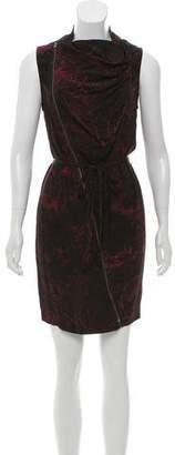 Edun Printed Mini Dress