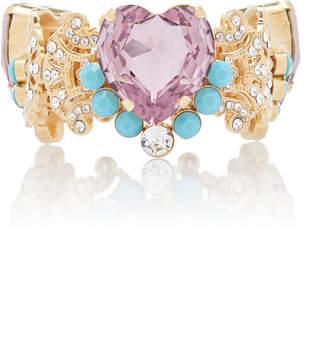 Dolce & Gabbana Crystal Heart Bracelet