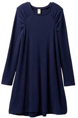 Harper Canyon Puff Shoulder Cozy Dress (Big Girls)