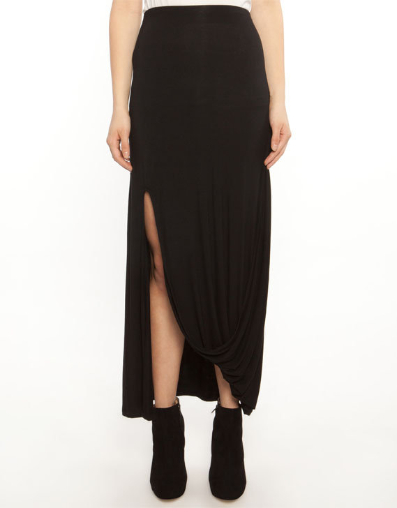 Ladakh Split Sweeper Maxi Skirt