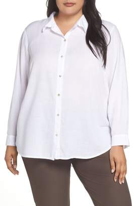 Eileen Fisher Tencel(R) Lyocell Shirt