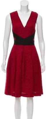 J. Mendel Sleeveless Lace Dress Sleeveless Lace Dress