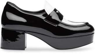 Miu Miu chunky two-tone loafers