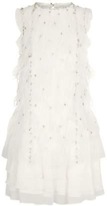 38d46f8ba88 White Feather Dress - ShopStyle UK