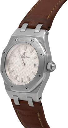 Audemars Piguet Pre-Owned 33mm Royal Oak Watch w/ Leather Strap
