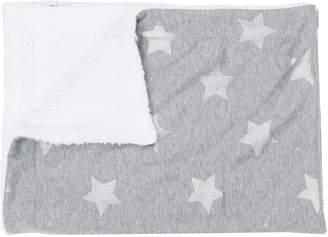 Thro Sophia Foil Stripe Stars Jersey Throw