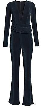 Galvan Women's Origami Wrapped Corduroy Jumpsuit