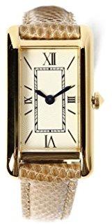 Demi-Luxe BEAMS (デミルクス ビームス) - (デミルクスビームス) Demi-Luxe BEAMS / レクタンギュラー ローマ 腕時計 64480023191 ONE SIZE ベージュ×アイボリー