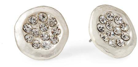 Tinley Road Round Pavé Stud Earring