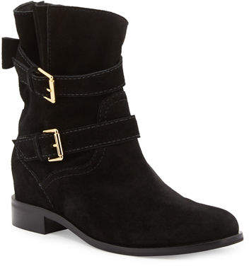 Kate Spade New York Sabina Suede Buckle Bootie