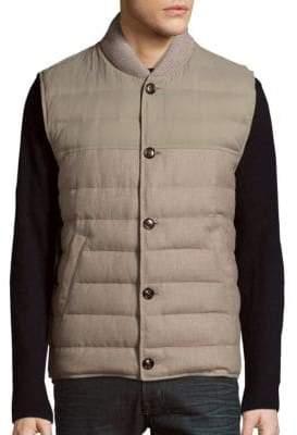 Brunello Cucinelli Sleeveless Quilted Jacket