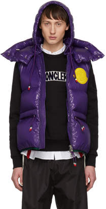 Moncler 2 1952 Purple Down Lorent Vest