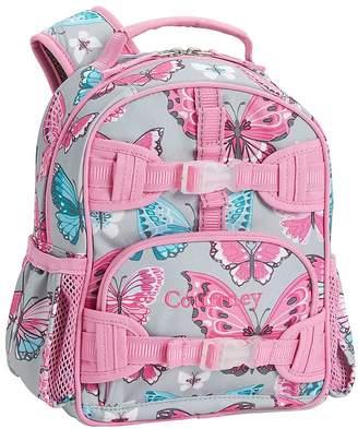 Pottery Barn Kids Mackenzie Grey/Pink Pretty Butterflies Lunch Bags