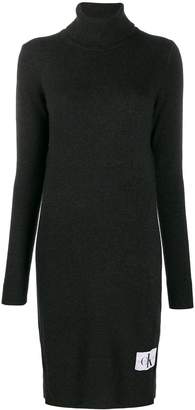 Calvin Klein Jeans logo print long-sleeved T-shirt