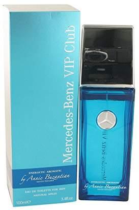 Mercedes Benz Benz VIP Club Energetic Aromatic by Eau De Toilette Spray (by Annie Buzantian) 3.4 oz