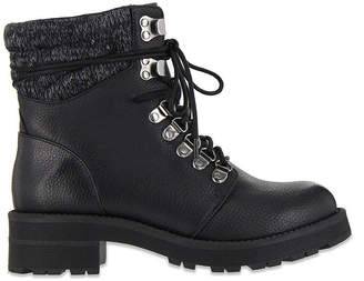 MIA GIRL Mia Girl Womens Ashtin Lace Up Boots Flat Heel Lace-up
