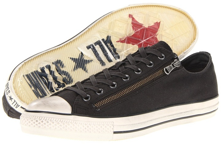 Converse by John Varvatos - Chuck Taylor All Star Double Zip Ox (Beluga) - Footwear