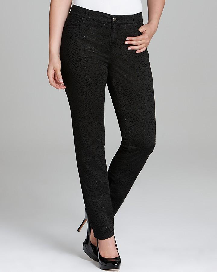Marina Rinaldi Rapsodia Textured Skinny Jeans
