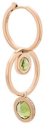Delfina Delettrez interlinked hoop earring
