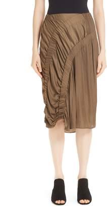 Zero Maria Cornejo Ruched Skirt