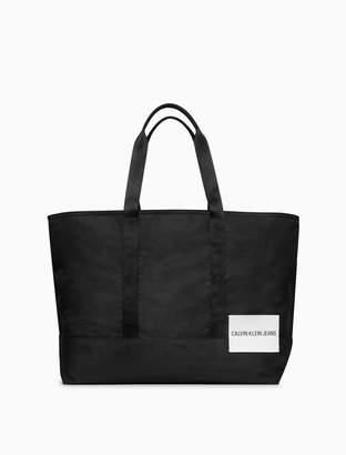 Calvin Klein sport essentials logo tote bag