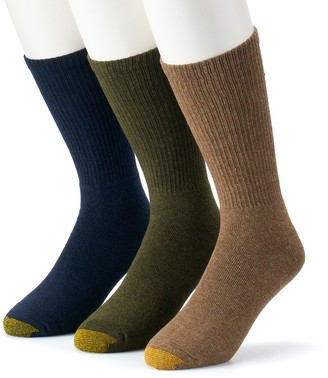 Gold Toe Goldtoe Men's GOLDTOE 3-pk. Uptown Crew Socks
