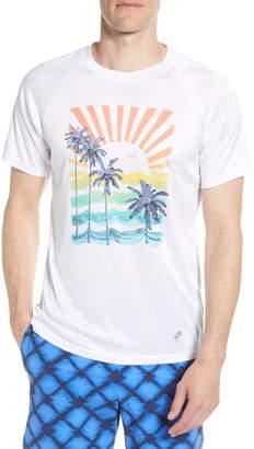 Trunks Surf & Swim Co. Palm Tree Graphic Swim T-Shirt