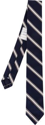 Thom Browne Striped jacquard tie